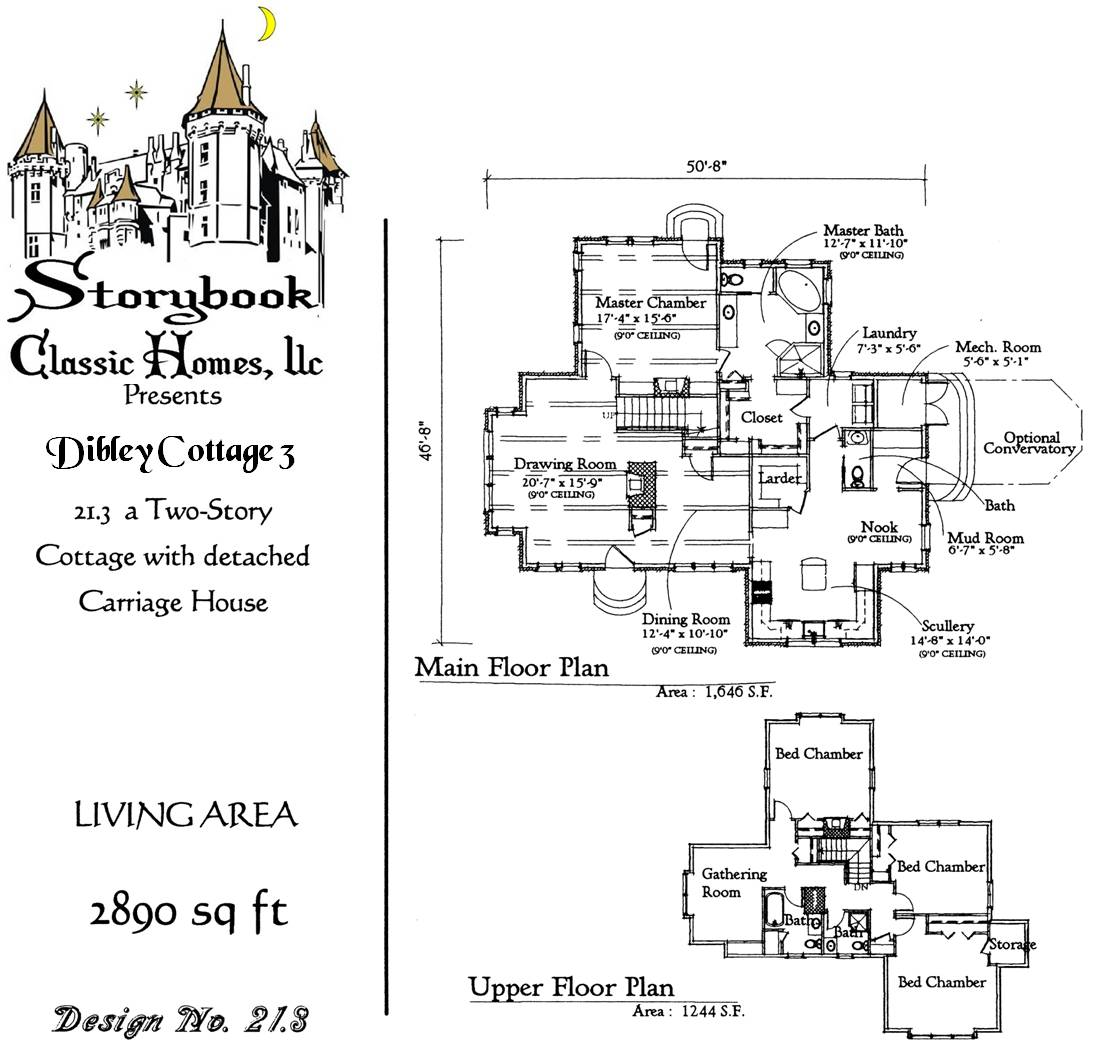 Vintage House Plans Storybook On Pinterest Storybook