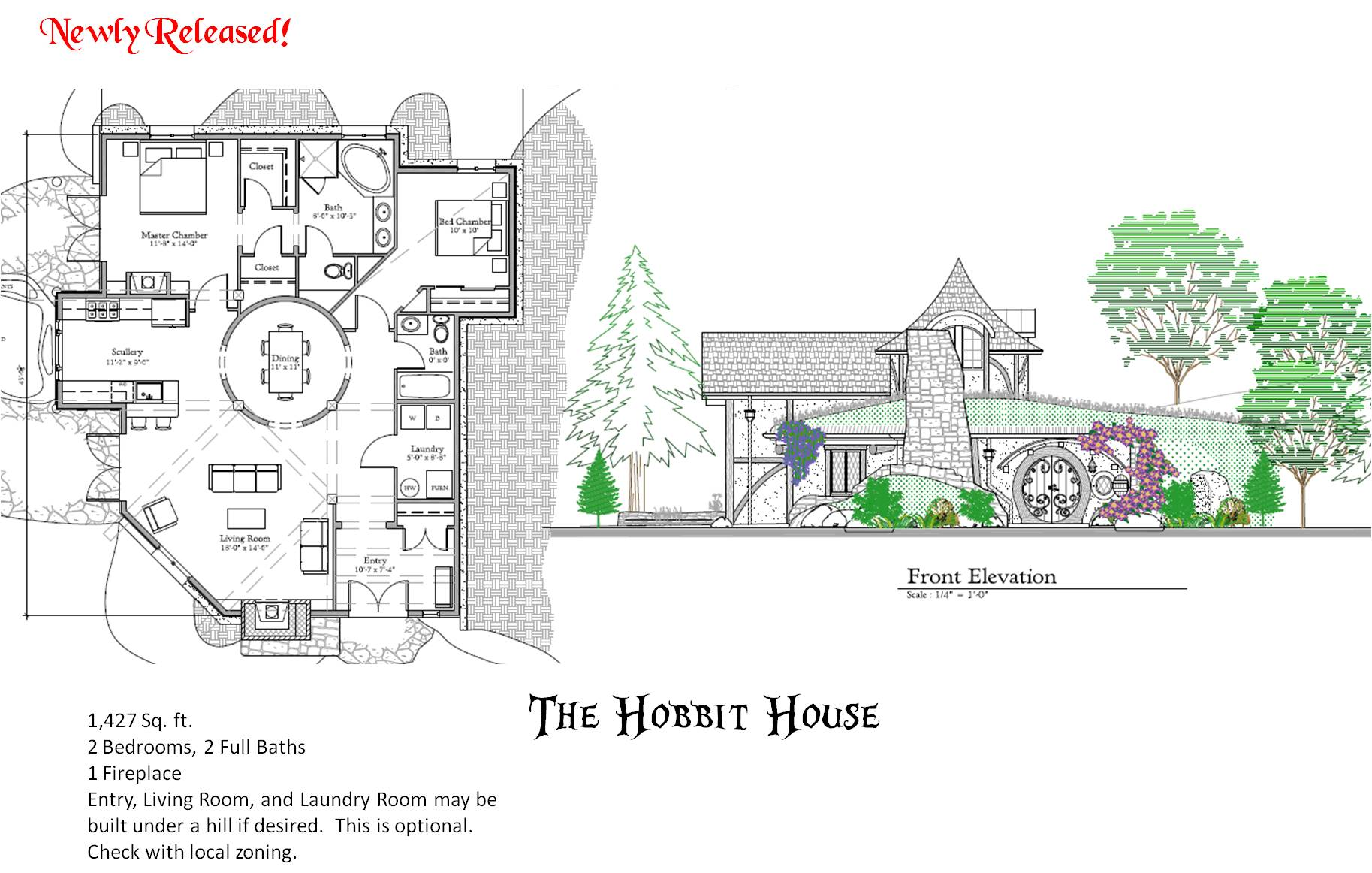 Storybook house plans joy studio design gallery best for Storybook cottage plans